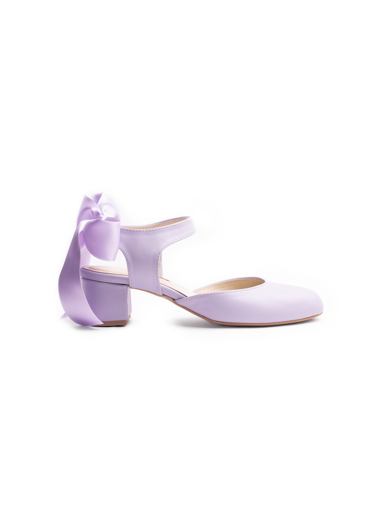 URLA MIX FLOWERS oxford shoes
