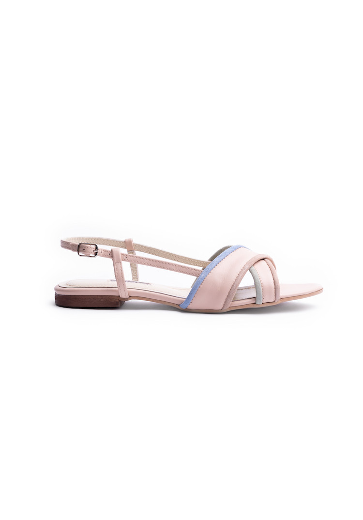 AMARUSI NAVY BLUE boots