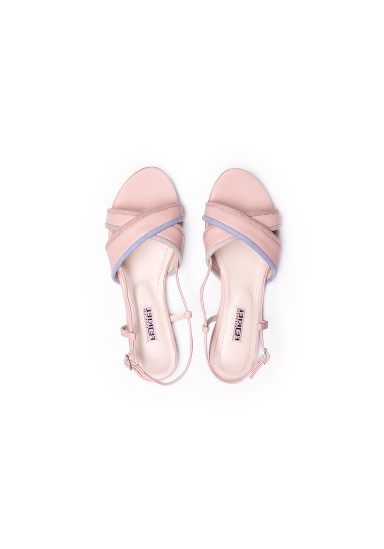 URLA BLACK SNAKE oxford shoes