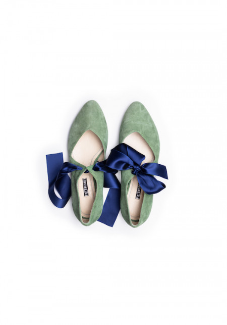 COMISO GREY and SILVER  boots