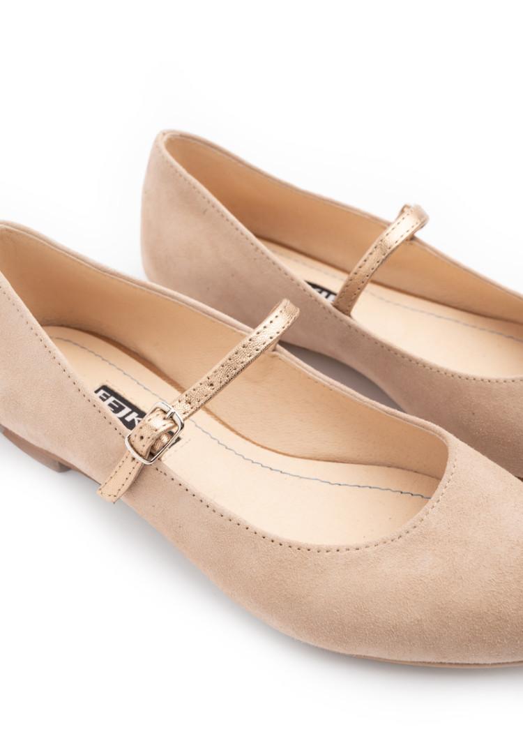 BISMIL PURPLE elastic side boots