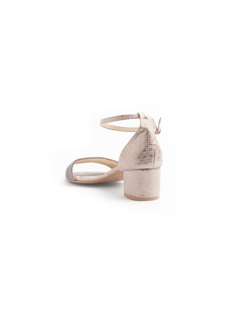 LINZ FLOWERS BLACK oxford shoes