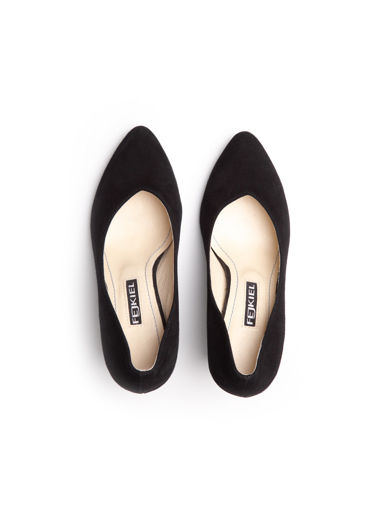 OLIMPIA BLACK booties