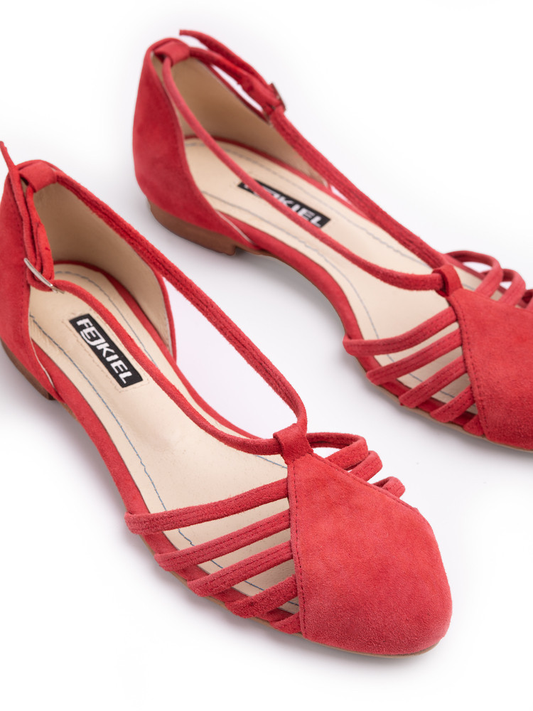 HAWALLI BLUE- ORANGE SANDALS